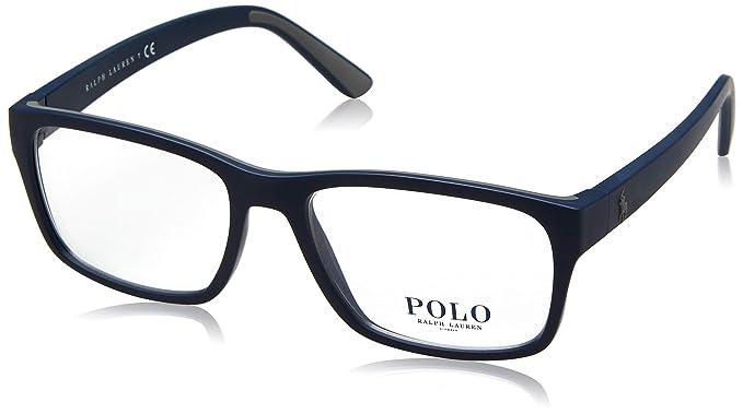 f8645f1d9fd Lunettes de vue Polo Ralph Lauren PH 2172 5590  Amazon.fr  Vêtements ...
