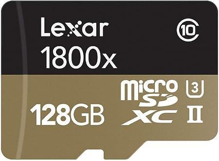 Lexar Professional 1800x Microsdxc 128 Gb Uhs Ii W Computer Zubehör