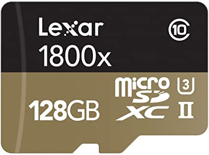 Lexar Professional 1800x microSDXC UHS-II Memoria Flash 128 GB ...