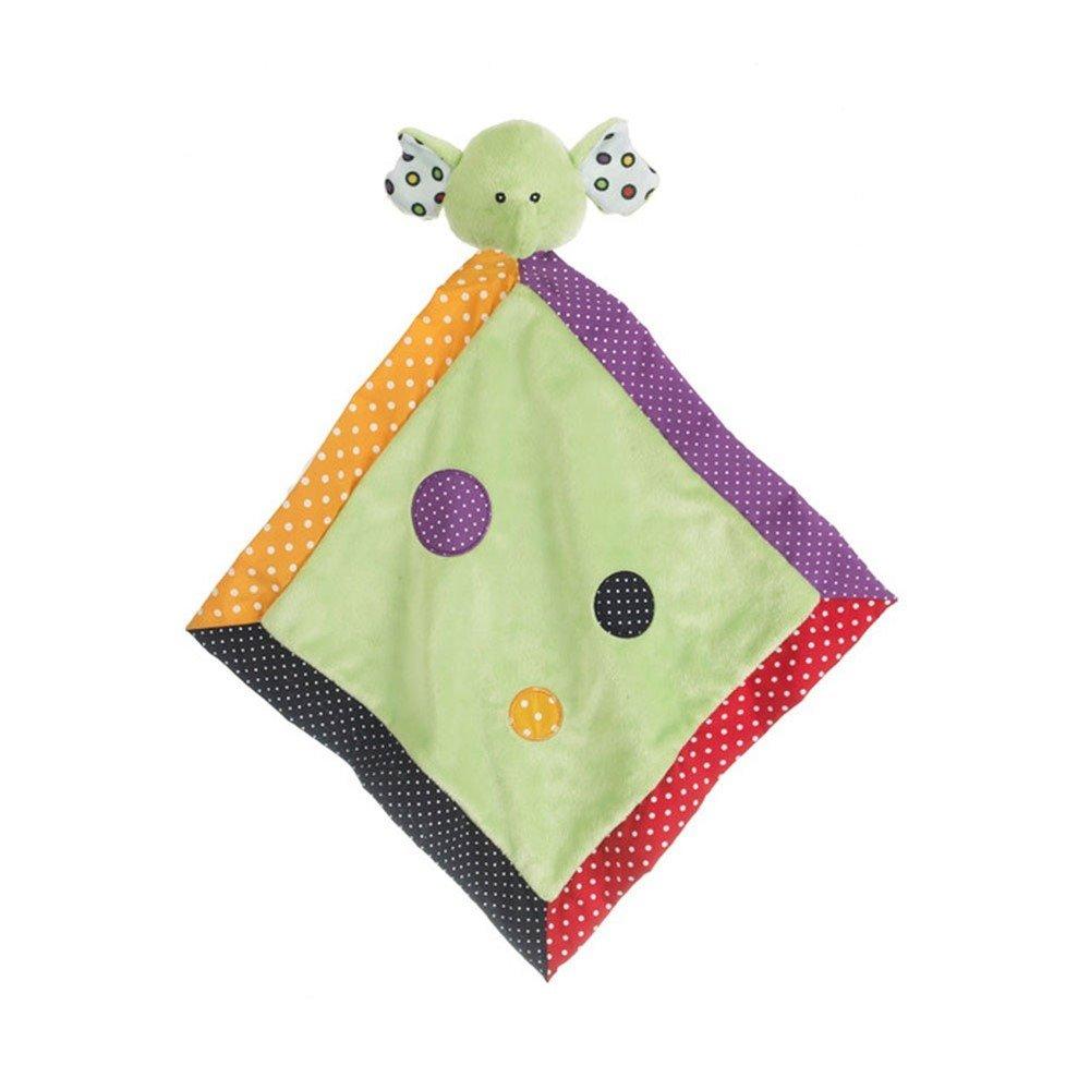 Ganz Lookie-Loos Green Dot Elephant Security Blanket