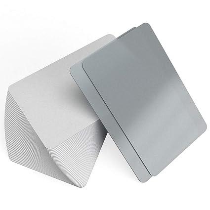 Tarjetas de plástico en blanco PVC tarjetas Inkjet - ambos ...
