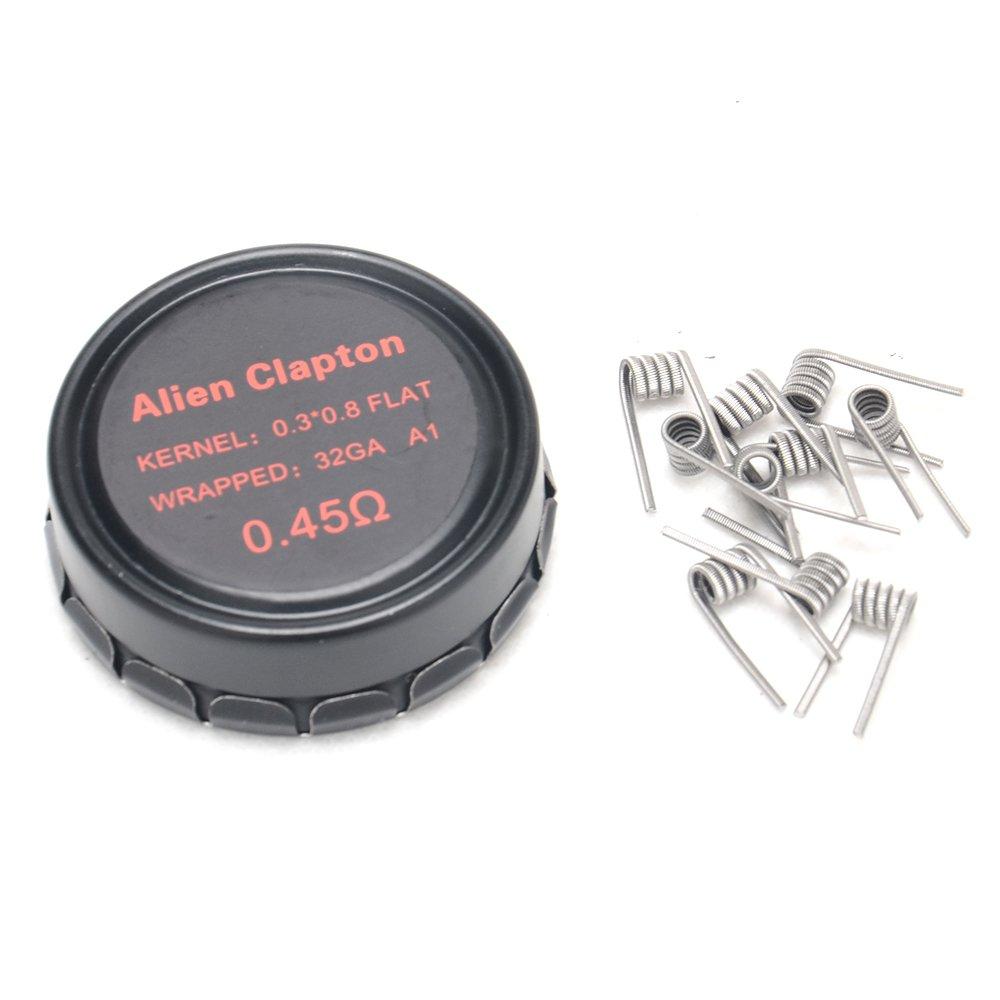 DIY-24H - 10x Alien Clapton 0.45 Ω Ohm von VPDAM Prebuilt ...