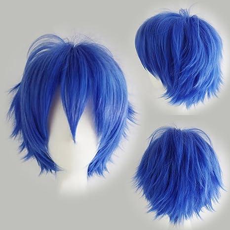 Perruque Cheveux Courts Homme Femme Pour