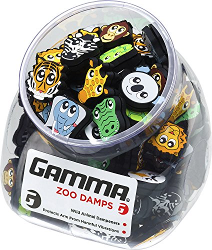 Gamma Sports Zoo Damps Vibration Dampeners(Jar of 60 - Assorted)