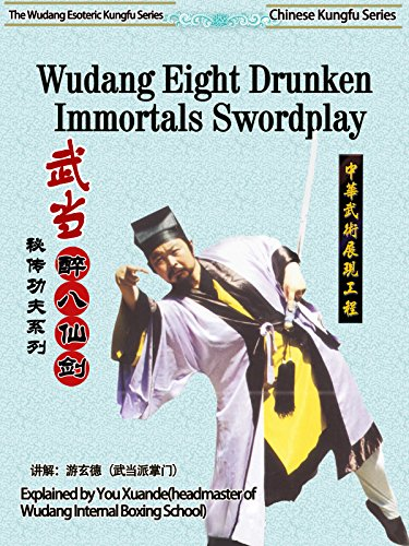 The Wudang Esoteric Kung fu Series-Wudang Eight Drunken Immortals Swordplay