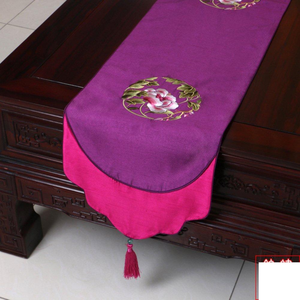 K 33x230cm(13x91inch) DHSNJKL Table runner table runner tea table runner bed runner placemat tablecloth A 33x300cm(13x118inch)