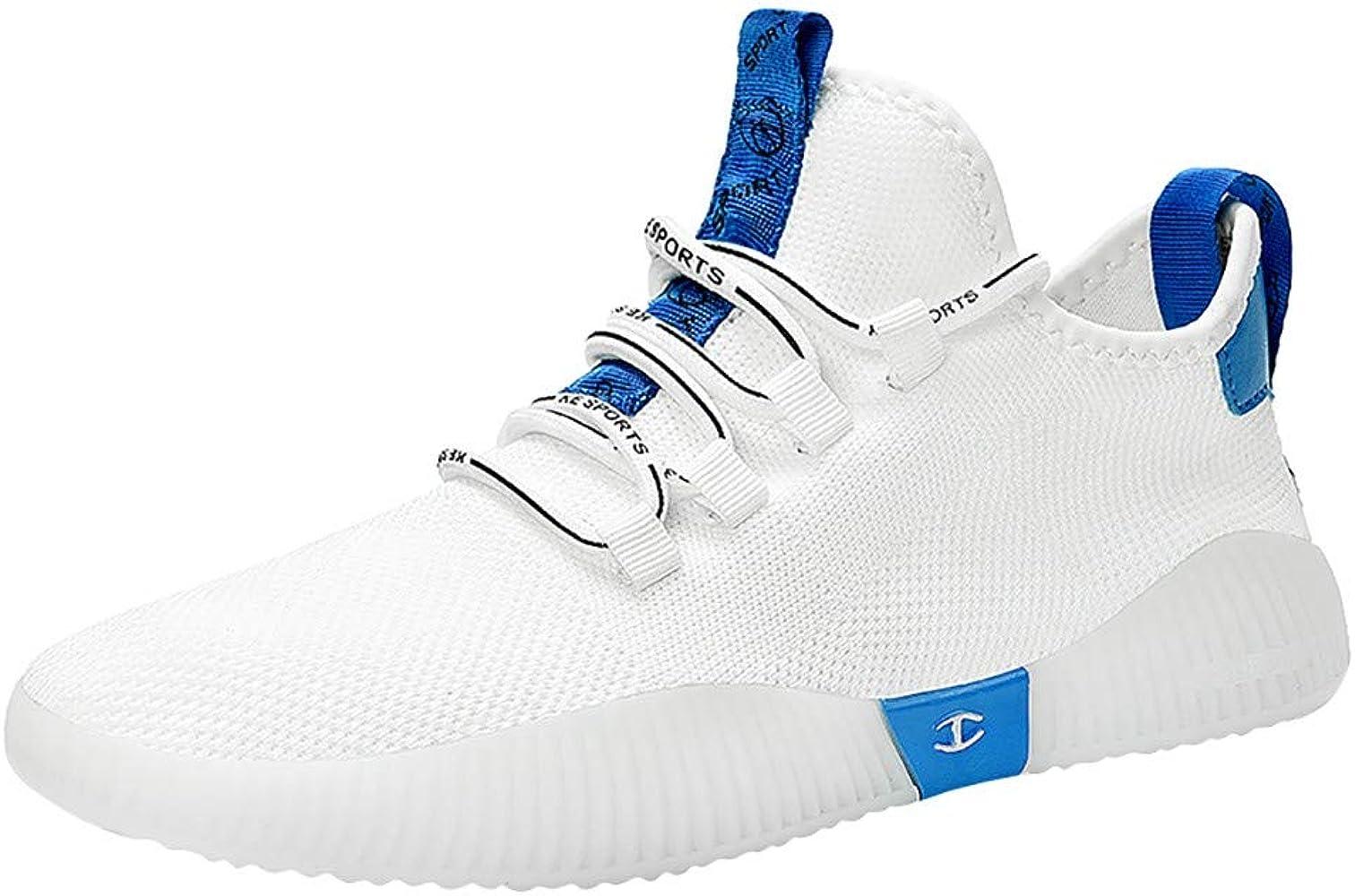 JiaMeng Zapatos de Baloncesto para Hombre Zapatos Casuales de ...