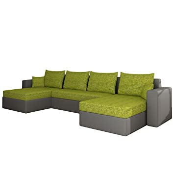 Polstermöbel mit schlaffunktion und bettkasten  Ecksofa Sofa Couchgarnitur Couch Rumba! Wohnlandschaft mit ...