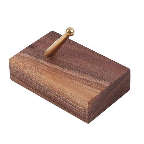 LIXIAQ1 - Perchero de pared cuadrado de madera con gancho ...
