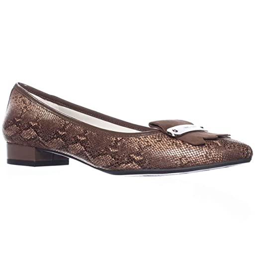 Womens Shoes Anne Klein Kallima Brown Leather