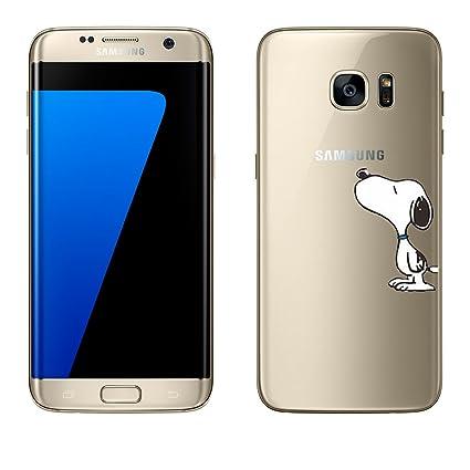Samsung Galaxy S Carcasa de licaso® TPU protege tu S 5,1 Protección de Móvil Transparente Clara silicona Style – Funda, silicona TPU, Snoopy, Samsung ...