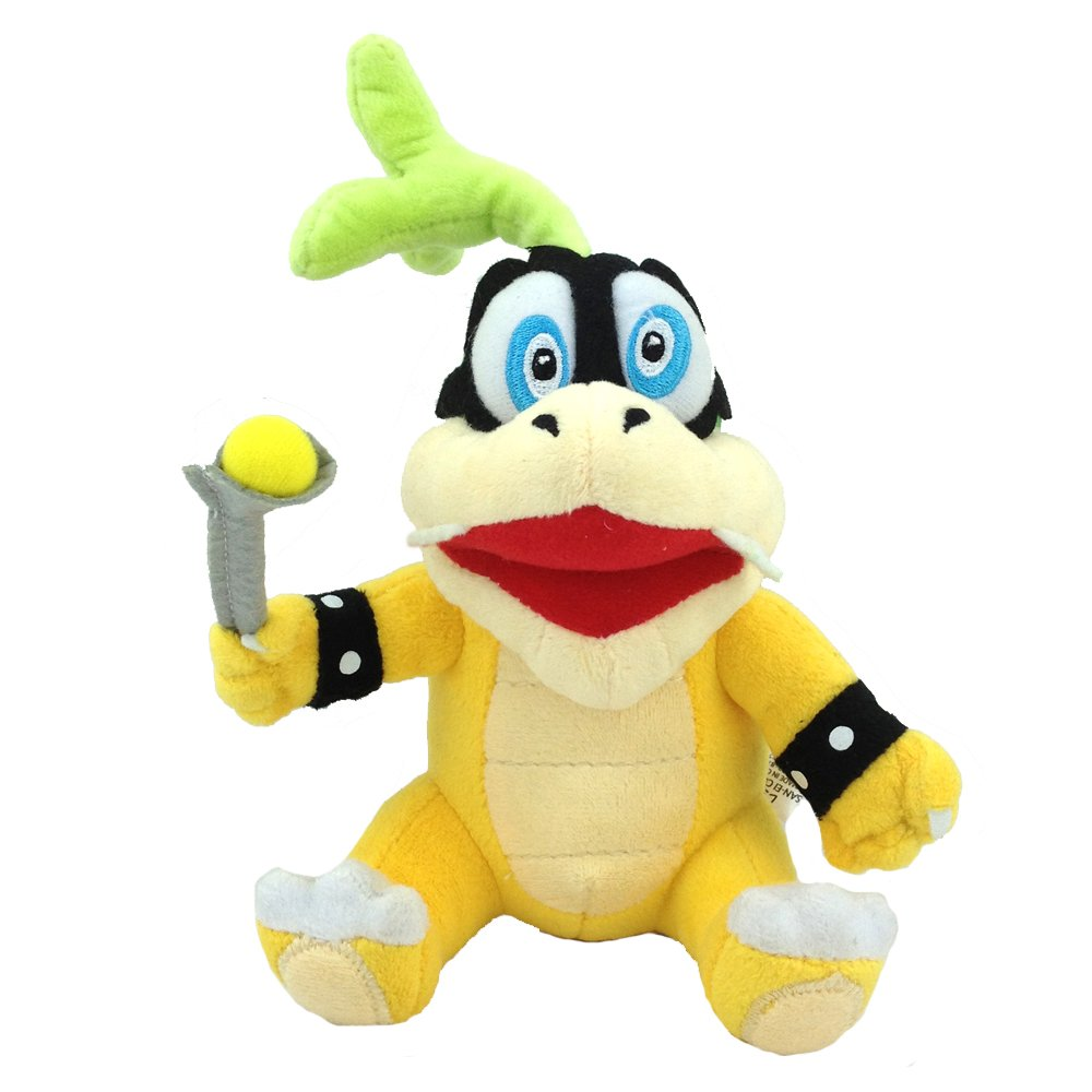 Amazoncom Super Mario Bros Iggy Koopa Plush Toy Hop