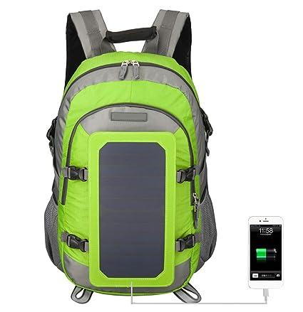 Amazon.com: Mochila solar Edith qi de 40 L para viajes ...