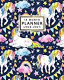 18 Month Planner 2020-2021: Pretty Rainbow Fantasy