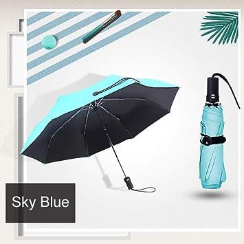 Giow Regenschirm Vollautomatische Kleine Sonnenschirm Regen