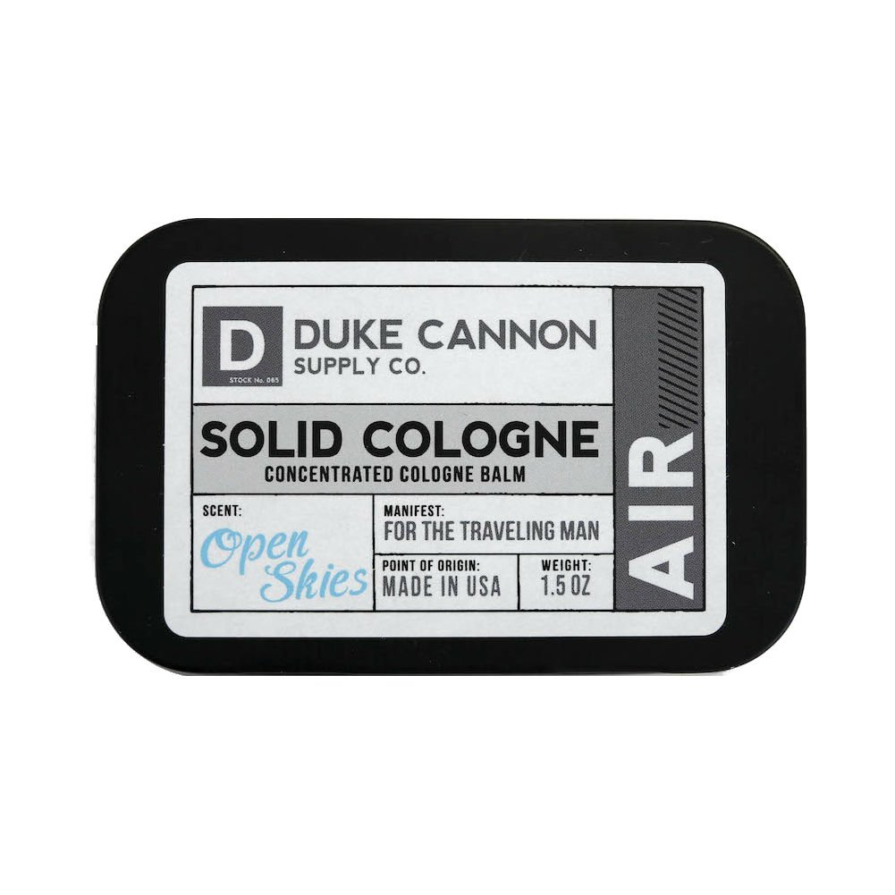 Duke Cannon Men's Solid Cologne, 1.5oz. - Sea SCSEA6