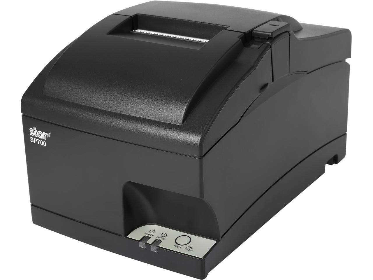 Square and Clover POS Register Kitchen Receipt Printer - SP742ML, SP700 Ethernet, Impact, Auto Cutter, Power Supply and Cables Included (Renewed)