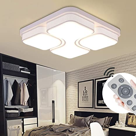 Awe Inspiring Myhoo 64W Led Ceiling Light Dimmable Ceiling Lamp Modern Design Energy Saving Ceiling Lighting For Living Room Bedroom Energy Class A Download Free Architecture Designs Barepgrimeyleaguecom