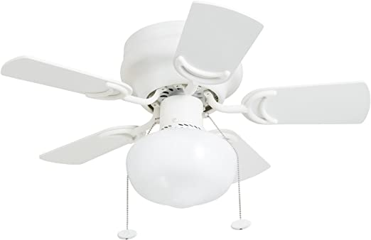 OYIPRO Ventilador de techo con L/ámpara led Regulable con control remoto para sala de estar Dormitorio Comedor Cocina
