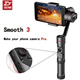"""Zhiyun Smooth 3 3-Axis Handheld Gimbal for Smartphone(Max.6"""") like iPhone X 8 plus 7+ Gopro 3 / 4 / 5 14hrs Runtime Real-Time Control Exposure Compensation ISO White Balance Shutter Speed Focusing W"""