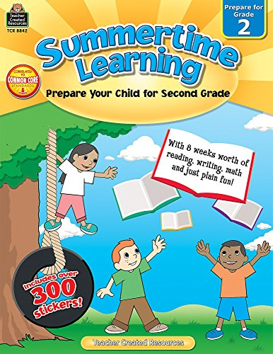 Summertime Learning: Prepare Your Child for Grade 2