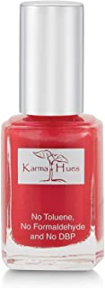 product image for Karma Organic Natural Nail Polish-Non-Toxic Nail Art, Vegan and Cruelty-Free Nail Paint (LITTLE RED DRESS)