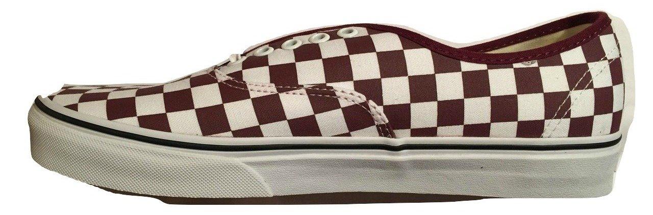 Vans Mens Authentic Low Top Lace Up Canvas Skateboarding Shoes B079K5J66Q 4 D(M) US Port Royale Red True White
