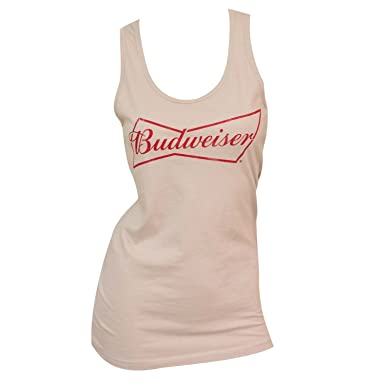 32a1c69628366 Women s Budweiser Tank Top Large  Amazon.co.uk  Clothing