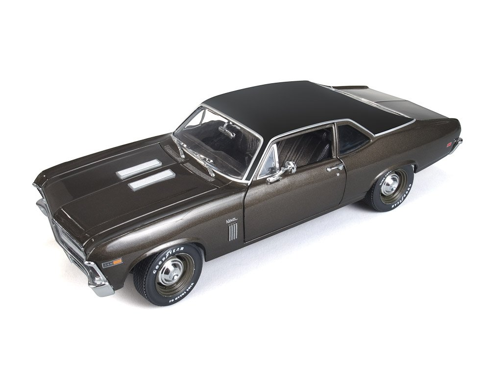 Chevrolet Nova SS 396 1969 1:18 American Muscle Burnished Braun