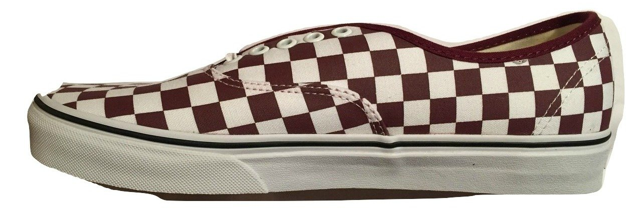 Vans Authentic B0787MK9K4 6.5 B(M) US Women / 5 D(M) US Men|Port Royale Red True White