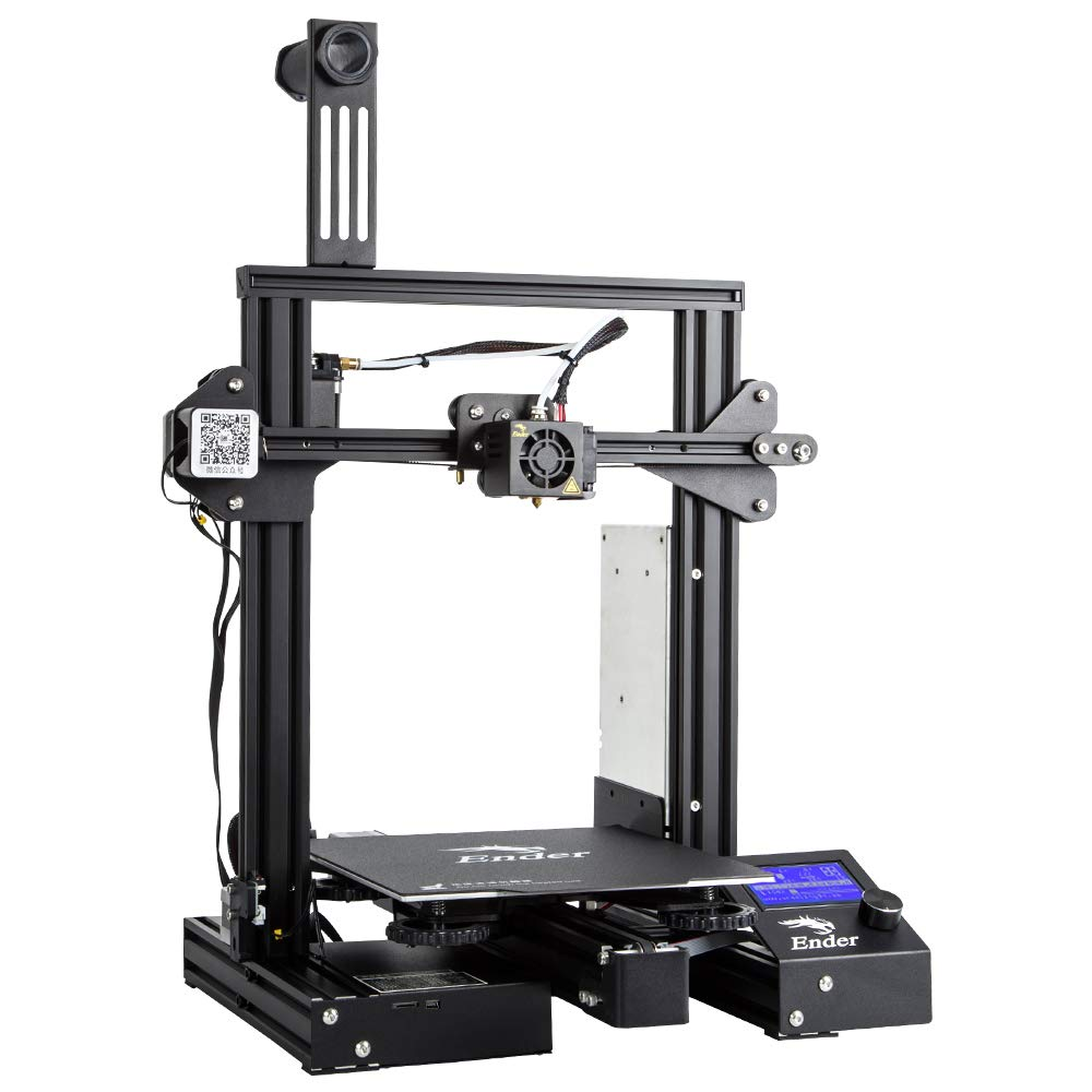 Comgrow Creality Ender 3 Pro 3D Printer with Upgrade Cmagnet Build Surface Plate and UL Certified Power Supply 8.6'' x 8.6'' x 9.8'' by Comgrow