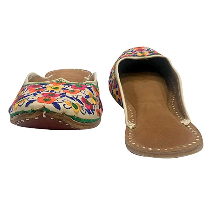 Amazon.com: Stop N Style - Zapatillas de punjabi para mujer ...