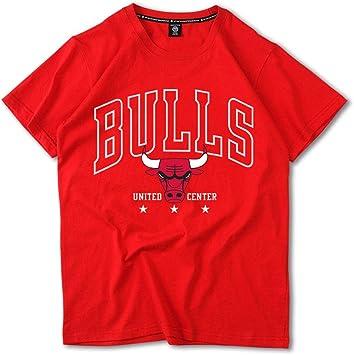 Hombre Chicago Bulls Team Camiseta, Jordan Baloncesto Camisetas de ...