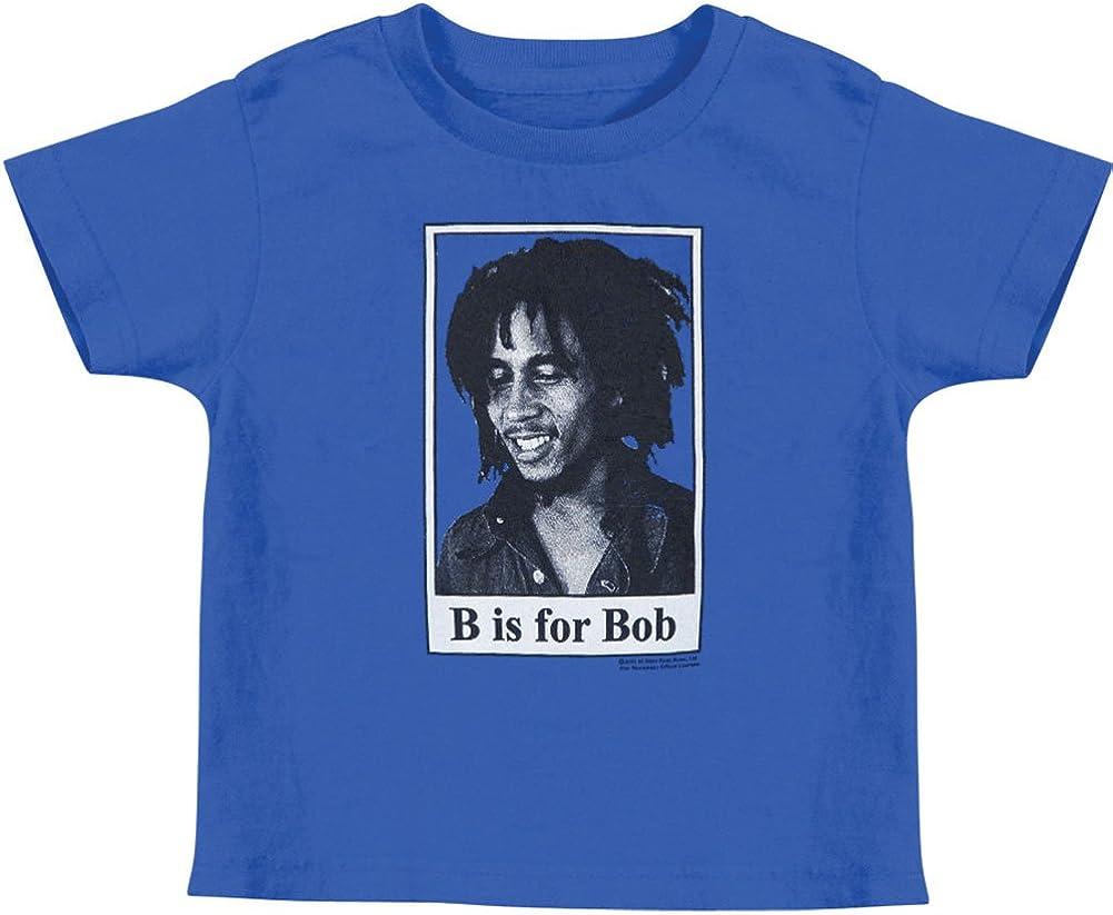 Bob Marley B is for Bob Toddler T-shirt