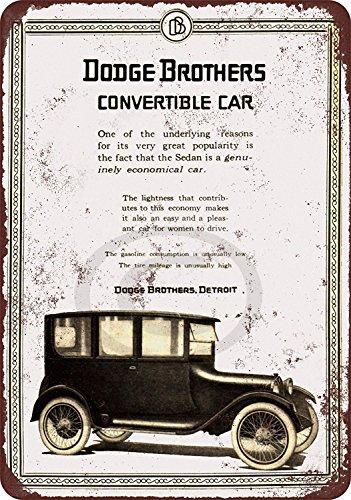 1919 Dodge Brothers Convertible Car reproduction metal tin sign 8 x - Dodge Car Brothers
