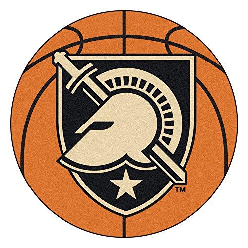 - U.S. Military Academy Basketball Shaped Mat Area Rug