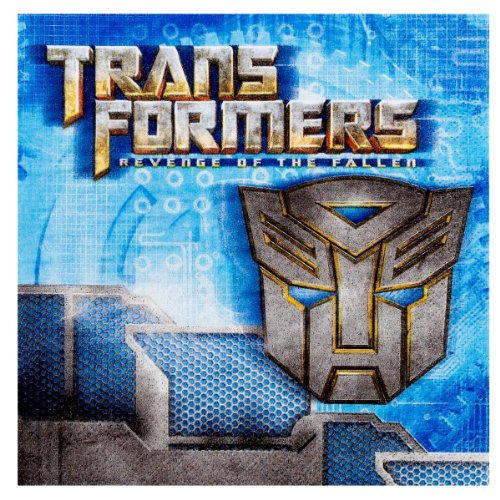 Transformers Revenge of the Fallen Lunch Napkins (16 count)