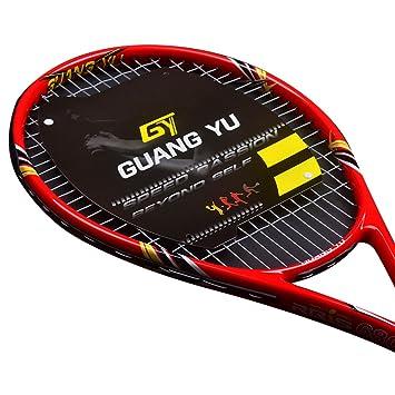 Broadcom titanio raqueta de tenis, rojo: Amazon.es: Deportes y aire libre