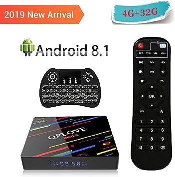 3GB/16 GB/4 K] uksoku H96 Pro Plus Smart TV Box, Android 7.1 Set Top