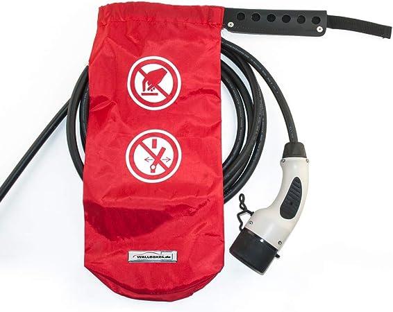 Wallbox24 Verschlie/ßbarer Schutzsack f/ür Ladestecker Schutz vor unbefugter Nutzung