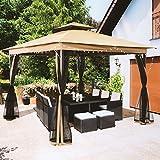 LCH 10 x 10 ft Pergola Canopy Shelter, Heavy