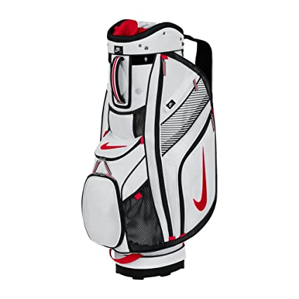 8d09d55d4052b Amazon.com : Nike 2014 Sport II Cart Bag White-University Red-Black ...