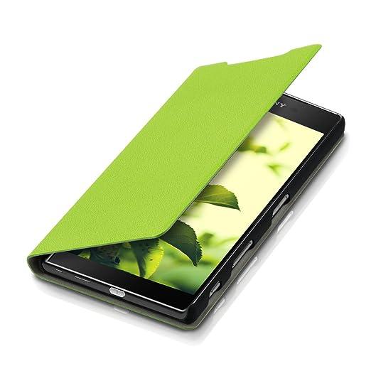 2 opinioni per kwmobile Cover per Sony Xperia Z5 Premium- Custodia protettiva apribile a libro