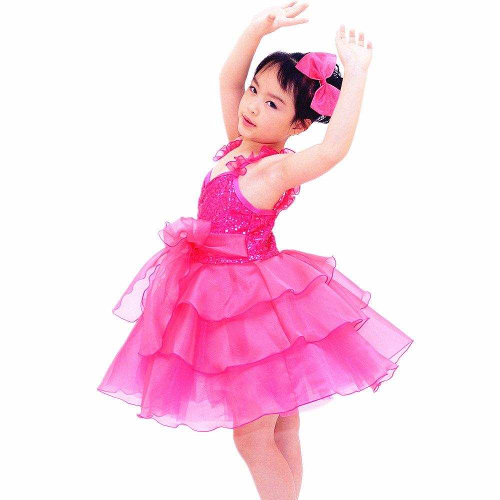 midee lentejuelas de las de Tutu niñas Cute de Tutu Danza Vestido de ...