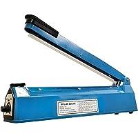 REV Máquina selladora de bolsas de calefacción por impulso de 30,6 cm con elementos de metal extra y tira de teflón