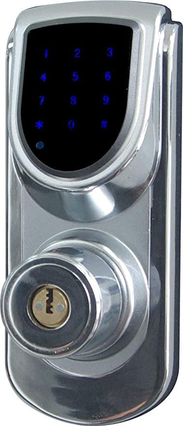 Cerradura inteligente para puertas, electrónica, pantalla táctil, sin motor, 6600 – 101