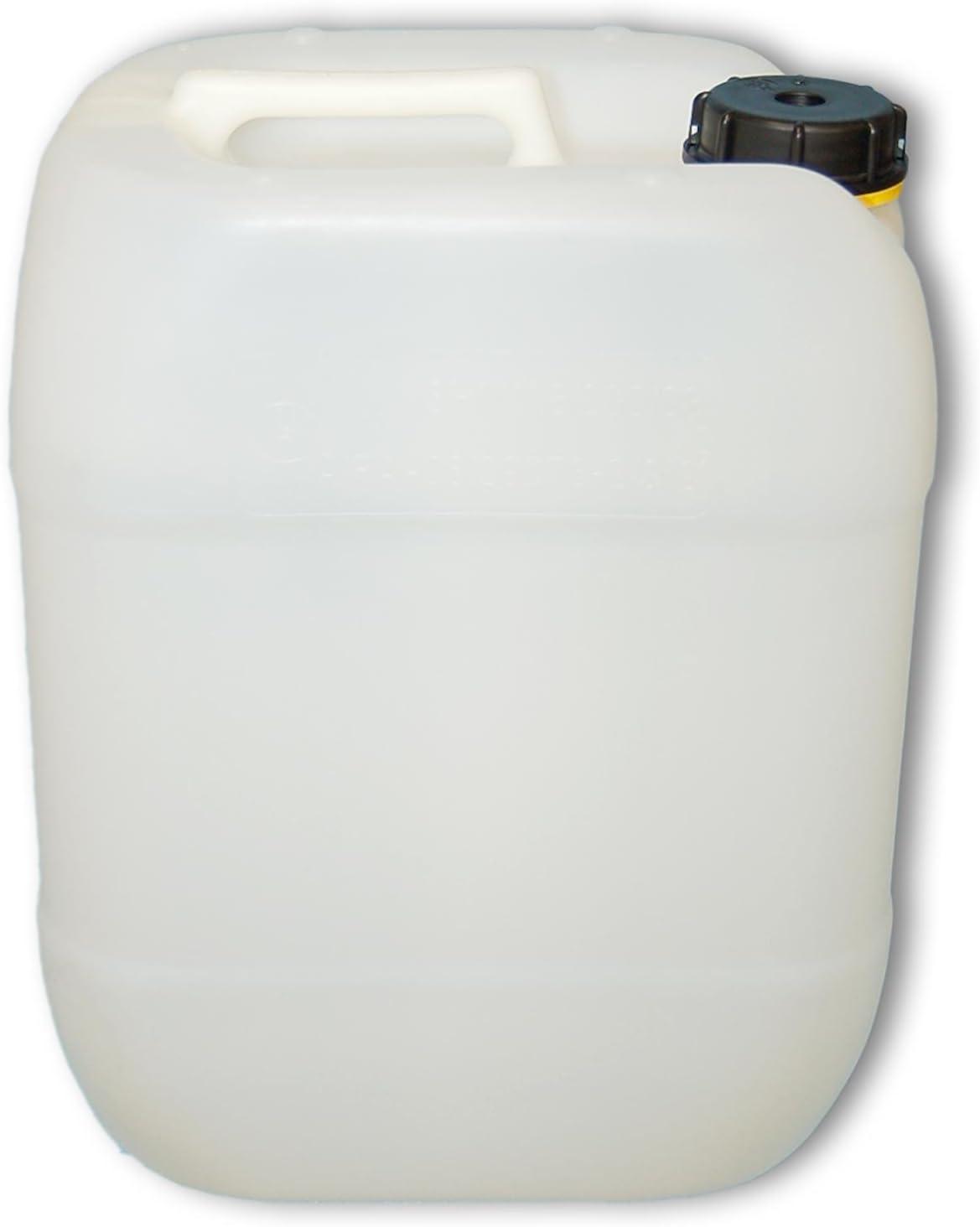 Hahn 8 x 30 L weiß Kanister Plastikkanister Plastekanister Trinkwasserkanister