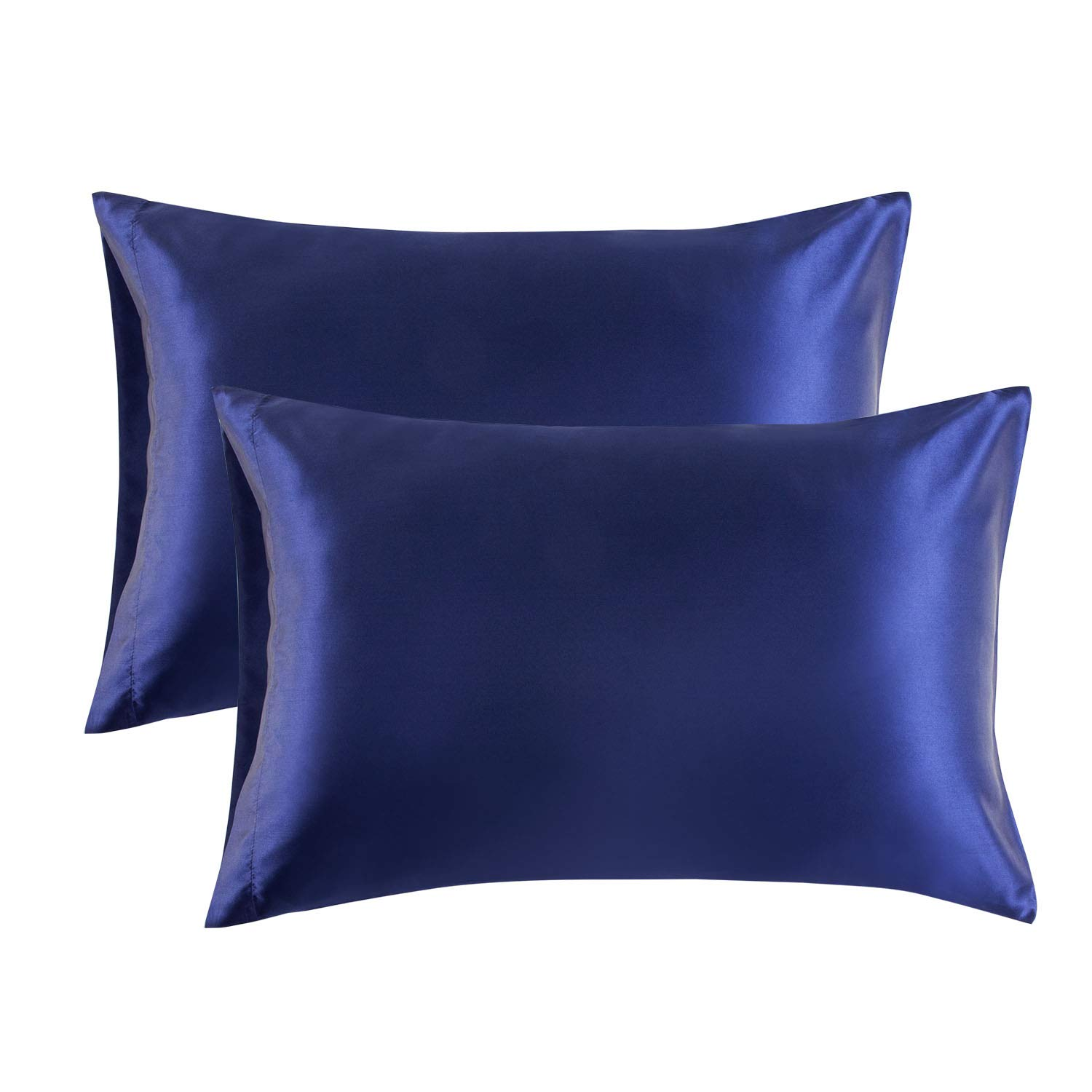 20x30 Inches 2 Pack Satin Pillowcase Stain Resistant A