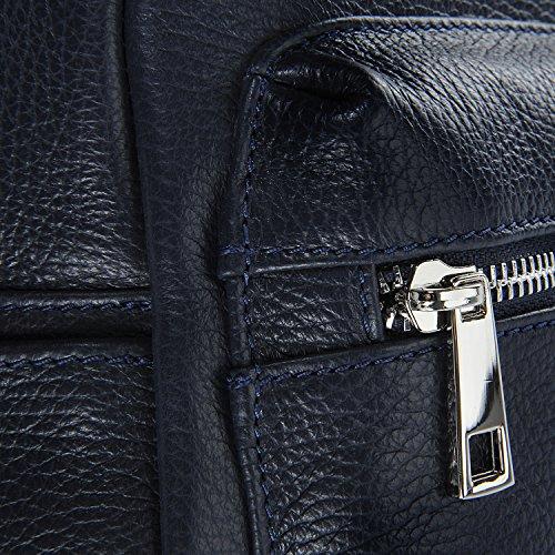 femme petit Dos Bleu BAG Sac OH Modèle MY cuir à Kyoto en Fonce modèle x1wqH60FS