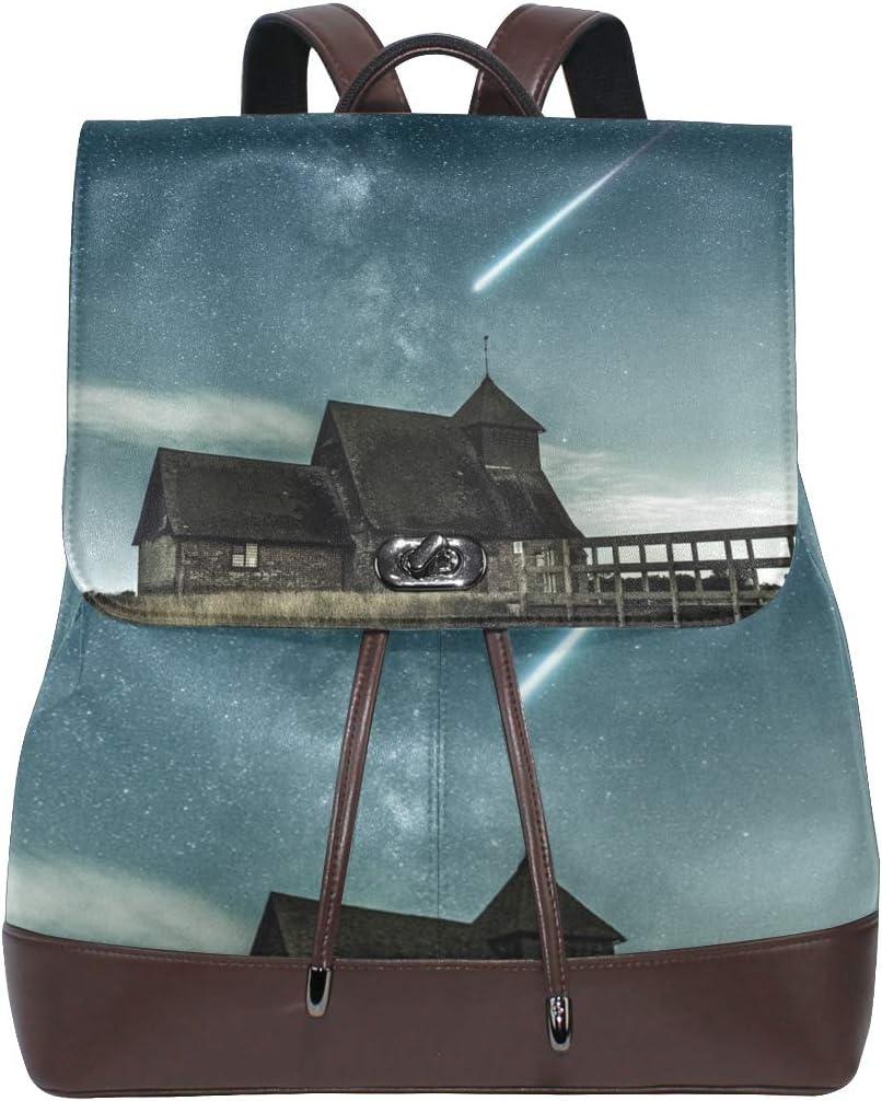 Storage Bag For Men Women Girls Boys Personalized Pattern Under Stary Night Travel Bag Backpack Shopping Bag School Bag